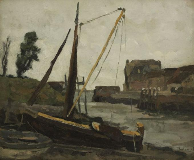 De haven van Veere